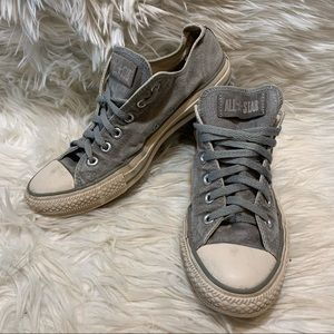 Converse All Star Gray Womens Size 10/Mens Size 8